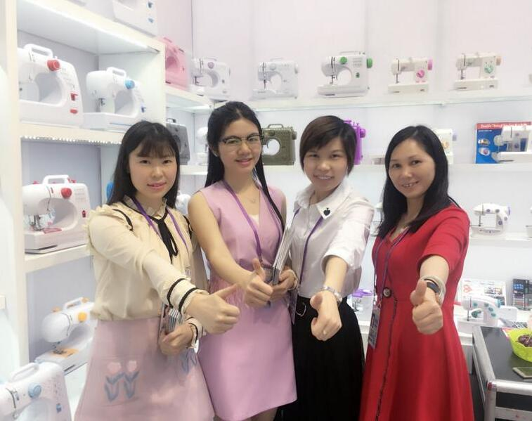 sewing machine factory canton fair 1