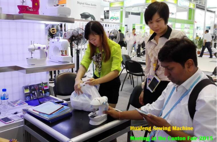 sewing machine factory canton fair 9